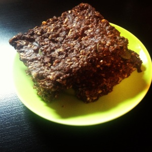 Healthy gluten free chocolate granola bars